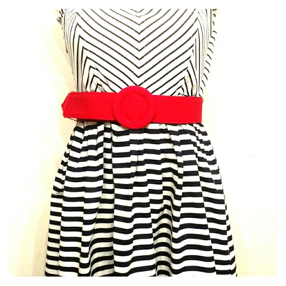 4c226d226040c City Triangles Dresses | Girls Black And White Dress | Poshmark